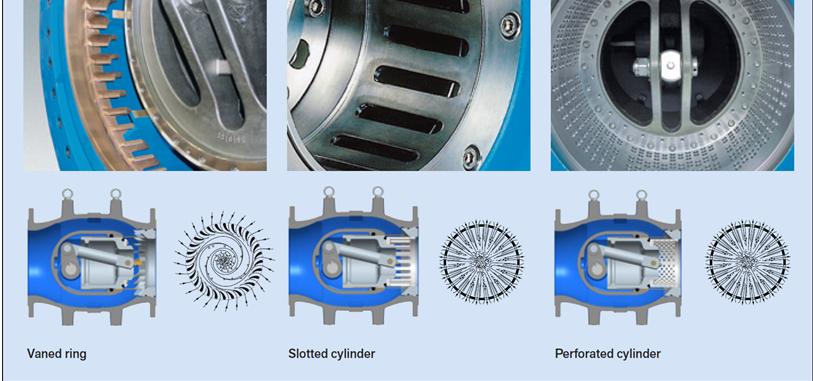 Outlets of plunger valve