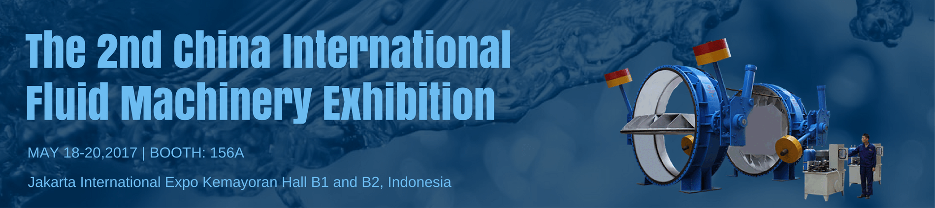 The 2nd indonesia exhibition fluid machinery