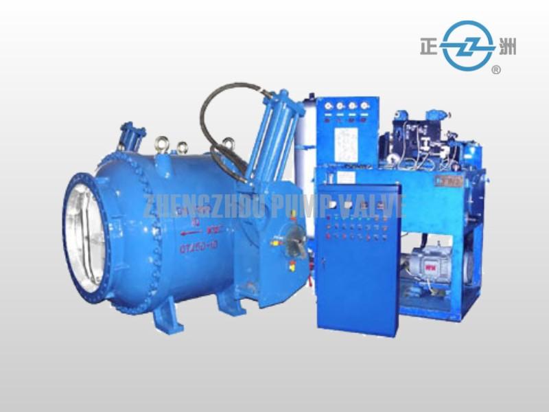 Hydraulic plunger valve