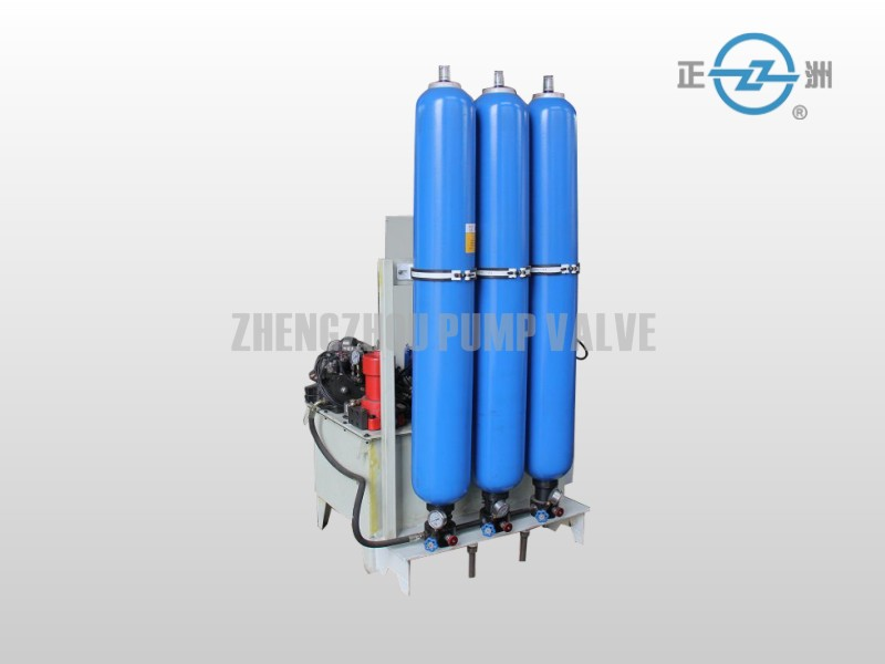 Hydraulic power pack for Accumulator Butterfly Valve
