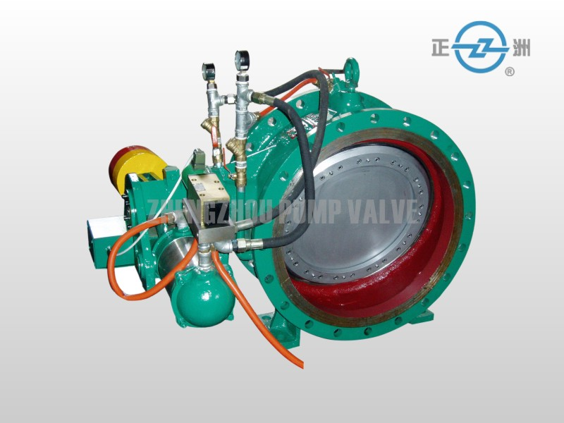 hydraulic double sealing control valve