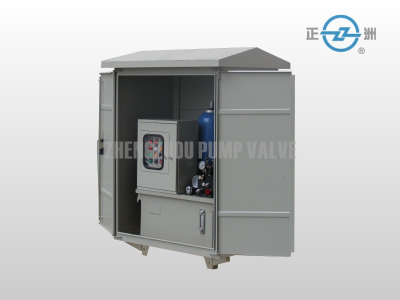 outdoor hydraulic power unit